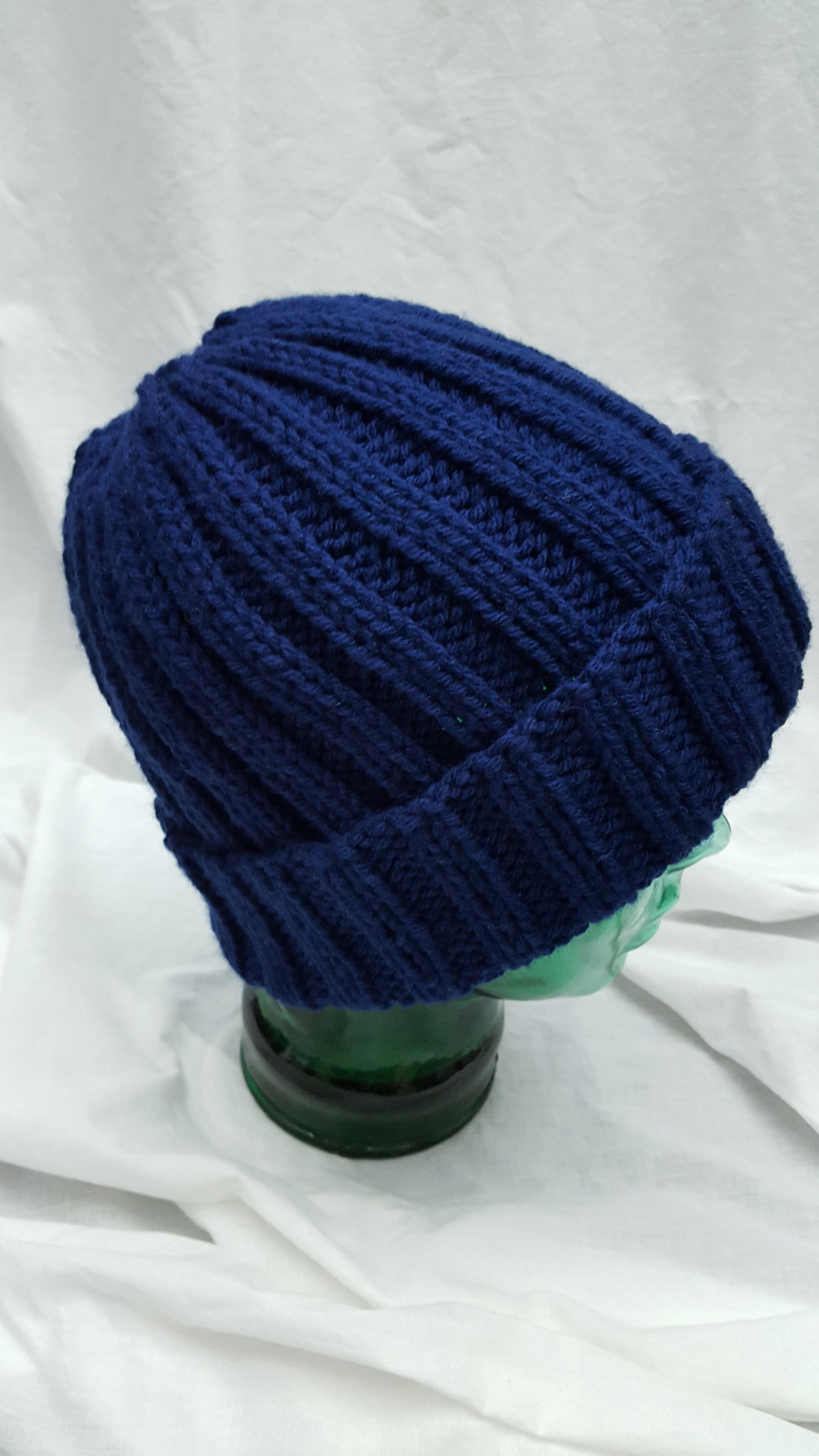 a3d14b8b60c Ribbed Knit Hat – Lee s Yarning